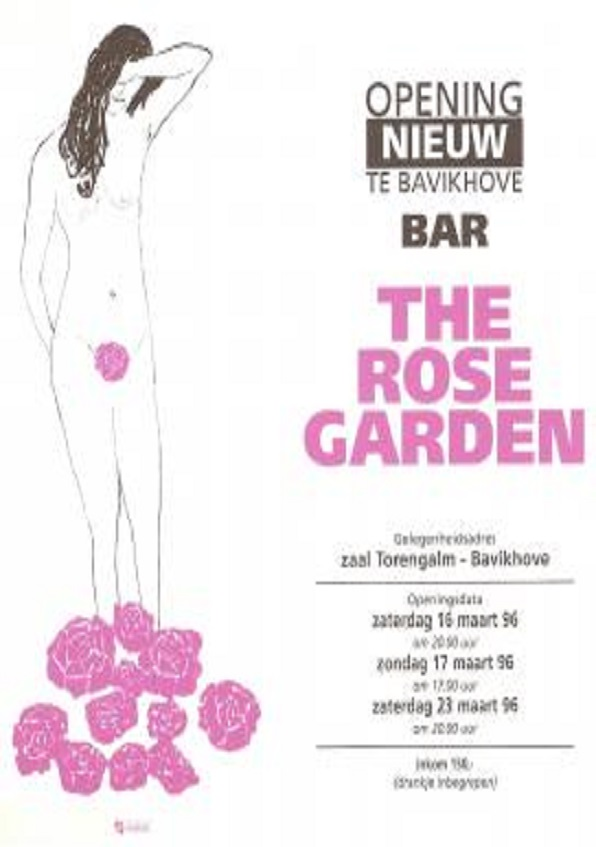 affiche voorstelling 1996: the rose garden